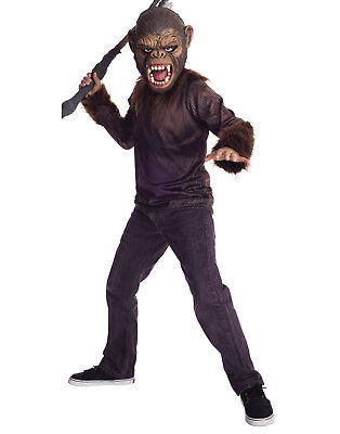War For The Planet Of The Apes Boys Caesar Childs Halloween Costume