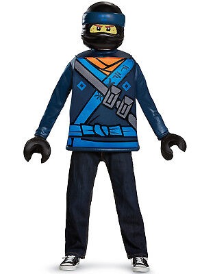 Lego Ninjago Movie Jay Walker Boys Lightning Ninja Halloween Costume - Boys Halloween Costume