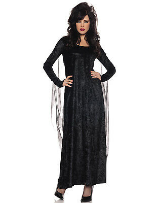 Morgana Womens Adult Fallen Angel Black Halloween Costume](Fallen Angel Halloween Costume)