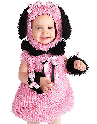 Precious Pink Poodle Infant Baby Girl Halloween Costume Infant (1
