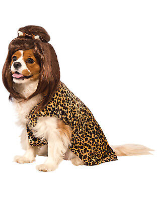 Cave Woman Pet Prehistoric Dog Cat Leopard Print Halloween Costume