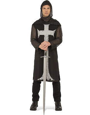Gothic Medieval Knight Adult Men Renaissance Halloween Costume](Halloween Costumes Goth)