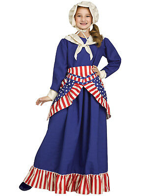 Betsy Ross Patriotic Historic American Flag Girls Halloween - Ross Costumes Halloween