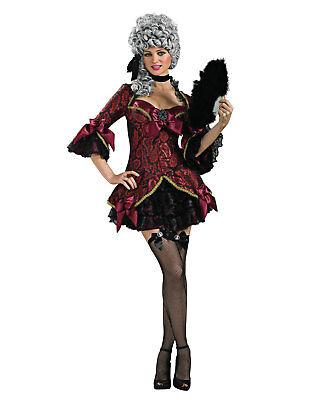 Sexy Burlesk Damen Versailles Französisch Erwachsene Halloween Kostüm