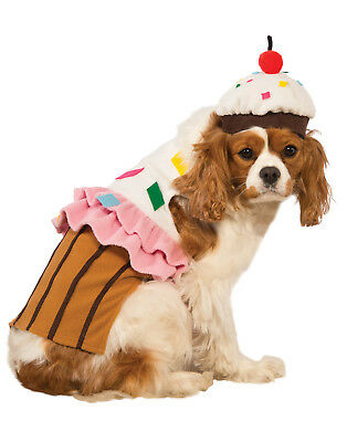 Cupcake Cake Pet Food Dessert Funny Dog Cat Halloween Costume