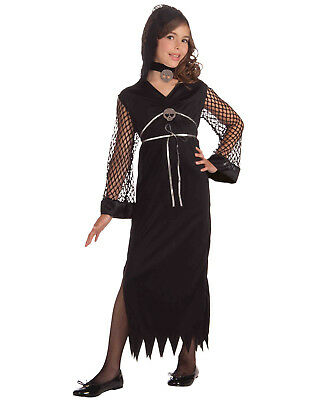Darling Of Darkness Black Gothic Diva Witch Halloween Costume