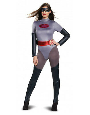 Elastigirl Womens Adult Superhero Classic The Incredibles Costume