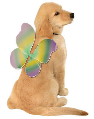 Dog Butterfly Costume (Mardi Gras Butterfly Fairy Pet Dog Cat Costume)