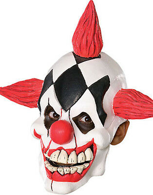 Die Laughing New Scary Clown Halloween 3/4Child Mask New Costume Accessory
