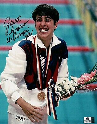 Mark Spitz Authentic Hand Signed 4x6 Photo Sports Mem, Cards & Fan Shop Summer Olympic Gold Medal Swimmer Bright In Colour
