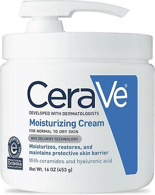 CeraVe Moisturizing Cream, 16 Ounce - With Pump