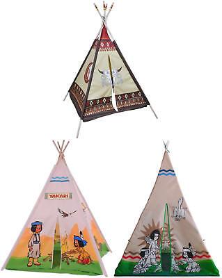 Knorrtoys Tipi Kinder Indianerzelt Spielzelt Kinderzelt