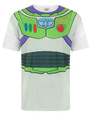 Disney Toy Story Buzz Lightyear Costume Men's Adults T-Shirt Top