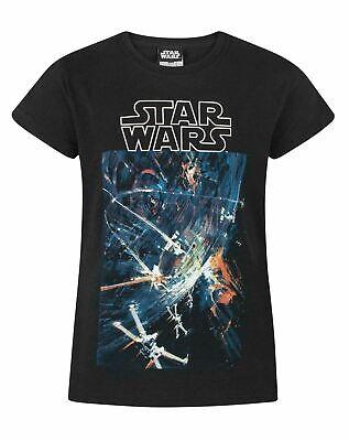 Star Wars Death Star Black Short Sleeve Girl's T-Shirt