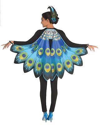 e Weicher Stoff Vogel Halloween Kostüm Wings (Damen Pfau Halloween-kostüme)
