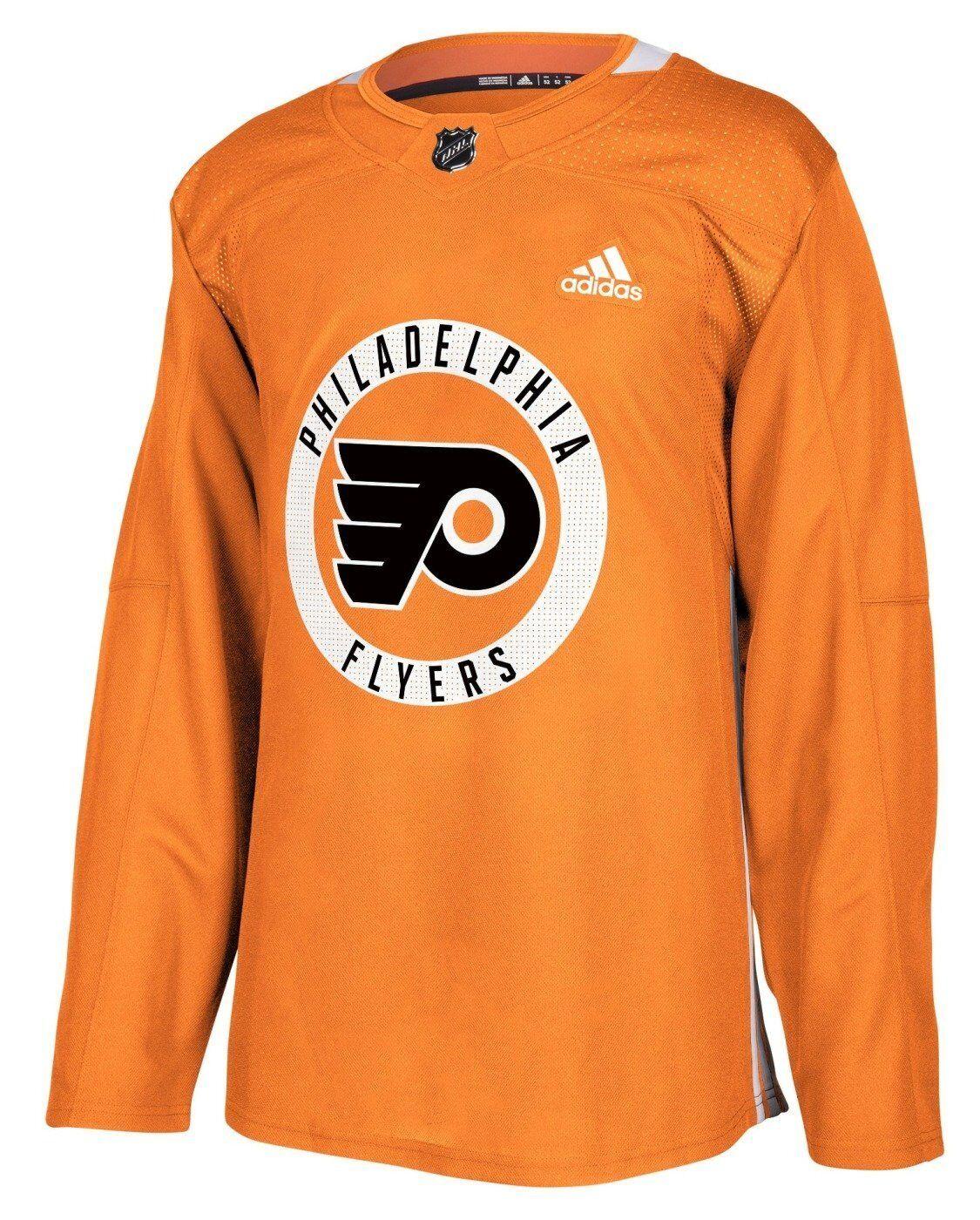 Philadelphia Flyers Adidas Climalite Authentic Practice Jersey 50 ...