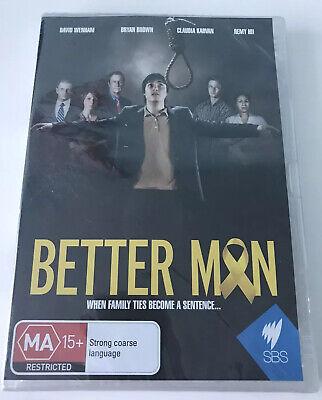 BETTER MAN (All Regions DVD) Australian TV Mini Series TRUE STORY Remy Hii -