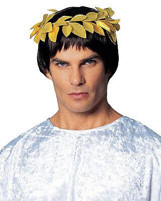 Römisch Griechisch Blattgold Kranz Herren Erwachsene Kostüm - Blattgold Stirnband Kostüm