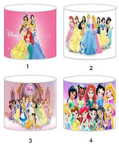 Disney principessa bambini paralumi soffitto luce lampada da tavolo biancheria da letto tende ebay - Biancheria letto disney ...