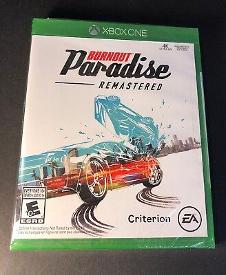 Burnout Paradise Remastered (XBOX ONE) NEW for sale  Shipping to Nigeria