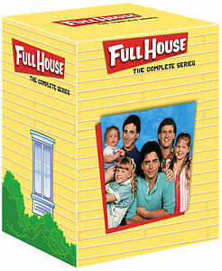 FULL HOUSE Complete Season Series 1 2 3 4 5 6 7 8 Collection Box Set NEW DVD R4