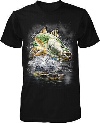 Striped Bass, Striper, Eat Sleep Fish Men's T-shirt