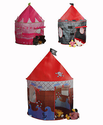 Kinderzelt Babyzelt Spielhaus Spielzelt Schloss Prinzessin Pirat
