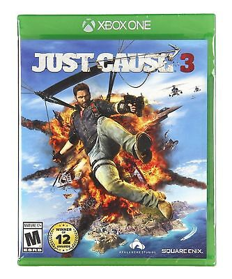 XBOX ONE JUST CAUSE 3 BRAND NEW FACTORY SEALED VIDEO GAME