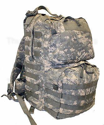 US Army ACU MEDIUM RUCKSACK Complete w/Frame MOLLE Bug Out Bag USGI SLVG