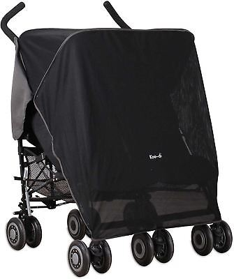 Koo-Di Sun & Sleep Double Stroller Cover Baby Twin Buggy Sun Shade Cover New