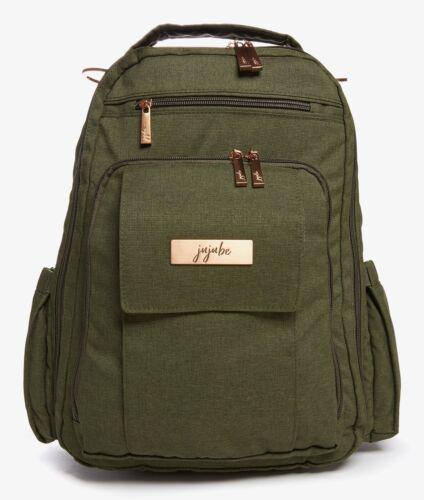Ju Ju Be Chromatics Be Right Back Backpack Baby Diaper Bag Olive
