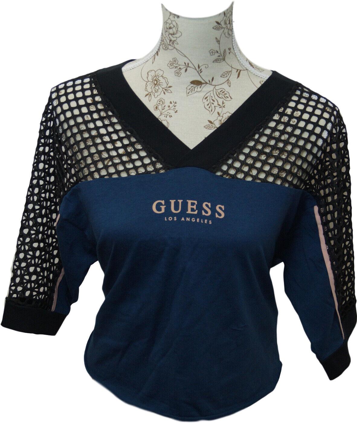 GUESS Sportshirt T-Shirt Print Damen Fitness-Shirt G008