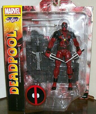 DEADPOOL MARVEL SELECT ACTION FIGURE - DIAMOND SELECT TOYS/2018 for sale  Shipping to India