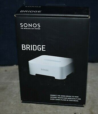 NEW IN BOX Sonos Bridge for Sonos Wireless Network - WIRELESS HIFI - SW V4.0