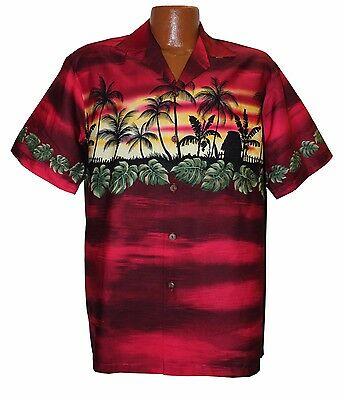 Big and Tall Hawaiian Vacation Aloha Shirt