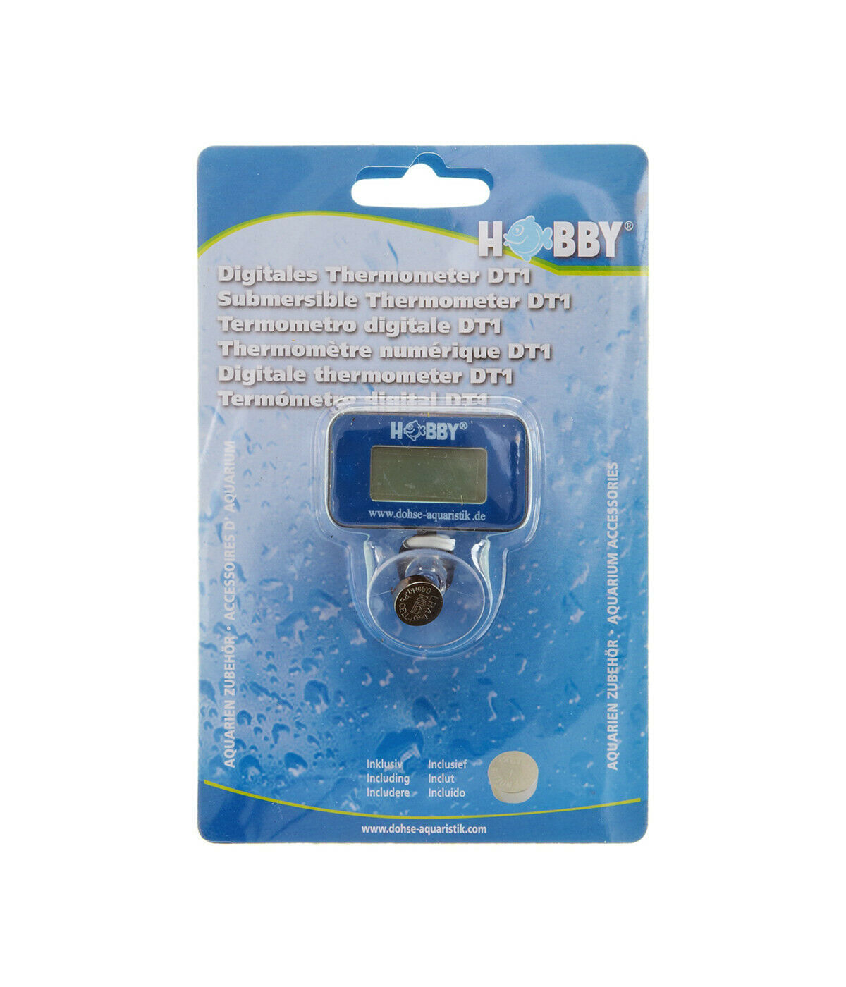Hobby Digital Thermometer für Aquarium-Terrarium-Unterwasser 60495