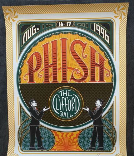 Phish - Clifford Ball poster - Signed & Numbered - grateful widespread allman