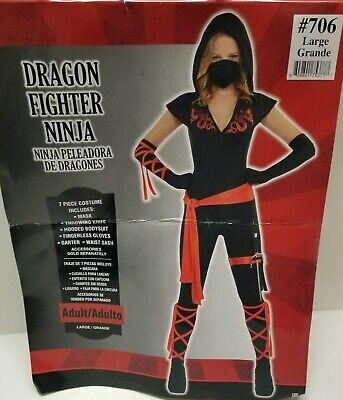 AMSCAN 6 PC. DRAGON FIGHTER NINJA SZ: LARGE 10-14