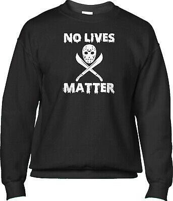 Funny Man No Mask (No Lives Matter Halloween Jason Mask Funny Humor Joke Parody Mens)