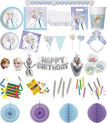 rty Deko Feier Fete Motto Frozen Sparkle (Sparkle Geburtstag)
