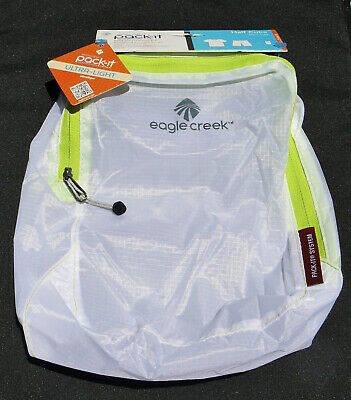 NWT Eagle Creek Pack-It Specter Half Cube  White+Strobe Green -