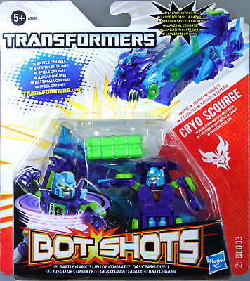 Hasbro Transformers Bot Shots Cryo Scourge Starter