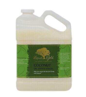 Gallon Premium Best Extra Virgin Unrefined RAW Coconut Oil 100% Pure