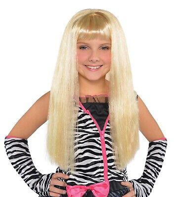 Pop Diva Costume (Littler Diva Girls Child Blonde Pop Star Straight Costume)