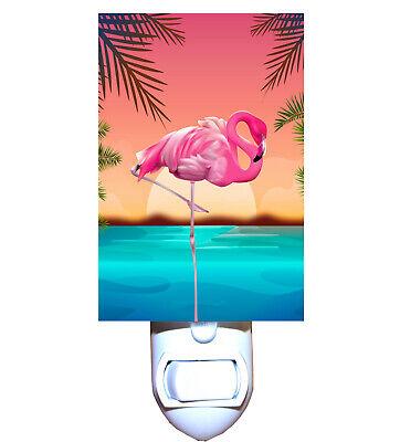 Florida Flamingo Decorative Night -