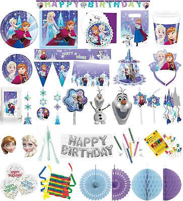 rty Deko Feier Fete Motto Disney Frozen Snowflakes (Disney Frozen Geburtstagsparty)