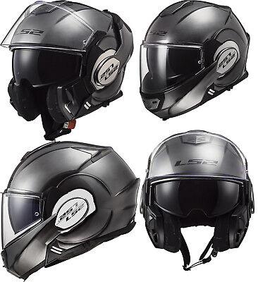 Ls2 Ff399 Valiant Modular Aufklappbar Vorne Voll Gesicht Motorrad Sturzhelm