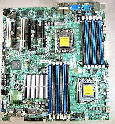 SuperMicro X8DT3-LN4F Server Motherboard & I/O, IPMI Extended ATX Dual LGA1366