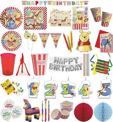 Kinder-Geburtstag Party Deko Feier Fete Motto Winnie Pooh Alphabet (Winnie The Pooh Geburtstag Party)