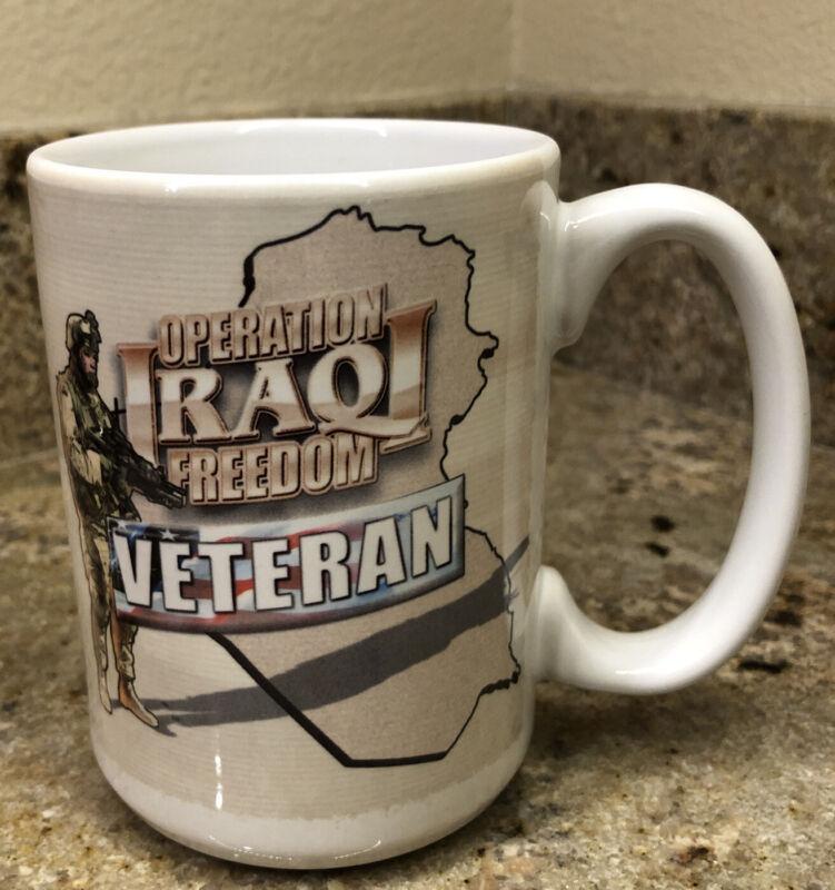 Operation Iraqi Freedom Military Veteran Coffee Mug History
